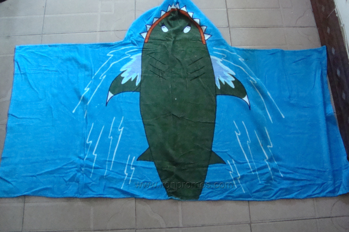 "Beach Tourism Souvenir Gift 30*60"" Cotton Velour Beach Towel"