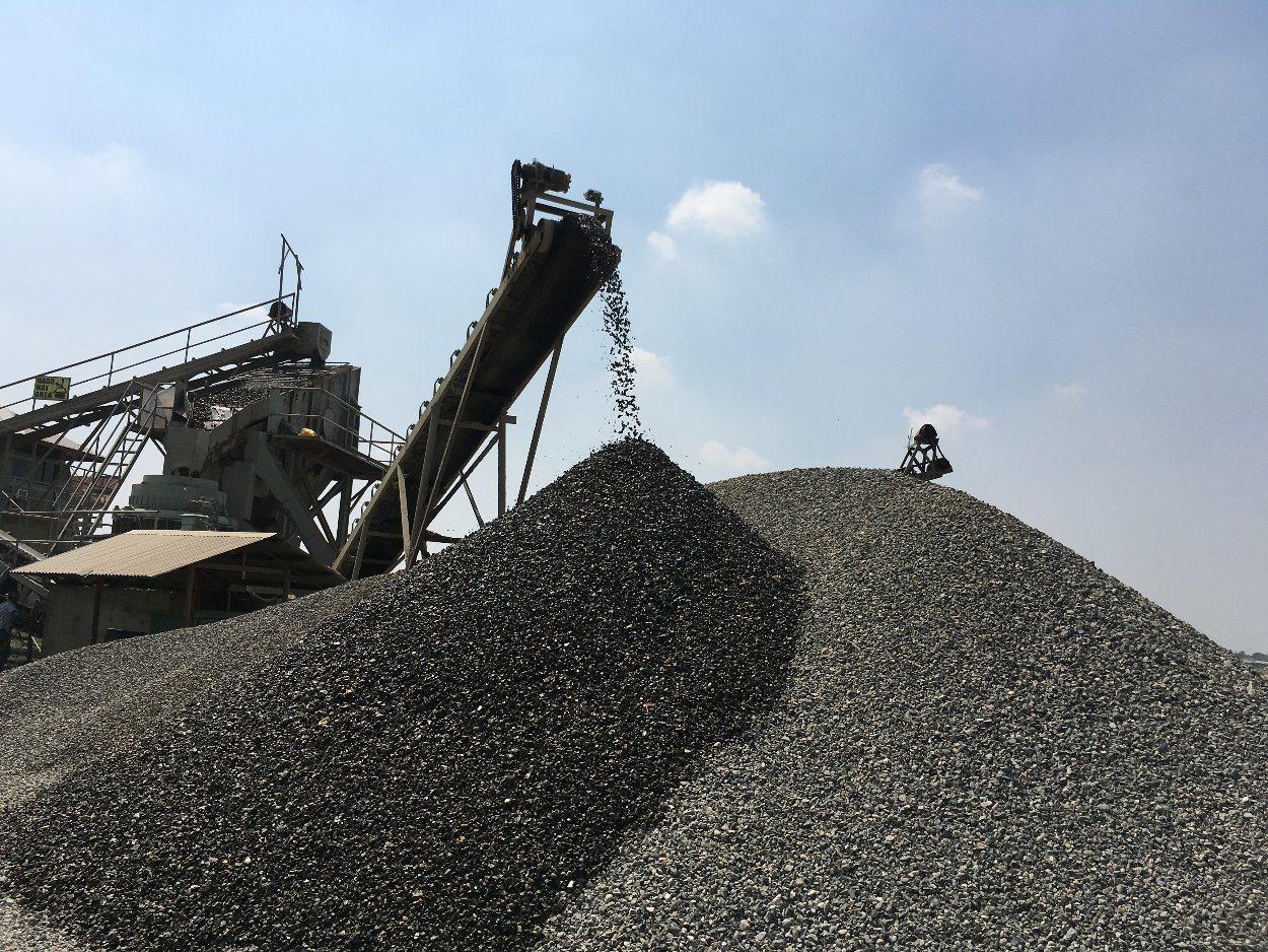 River Stone Gravel Crushing Plant for Aggregates