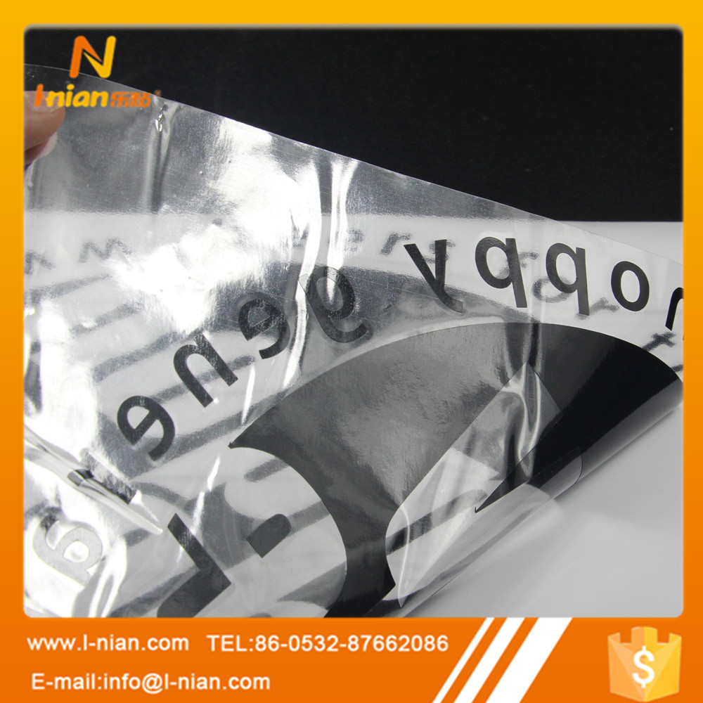 Custom Printing Hollowed Durable Car Sticker