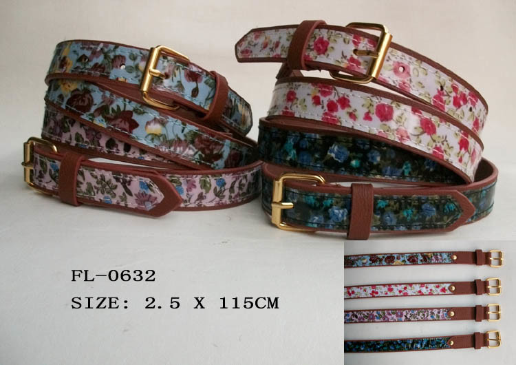 Fashion PU Belt for Lady (FL-0326)