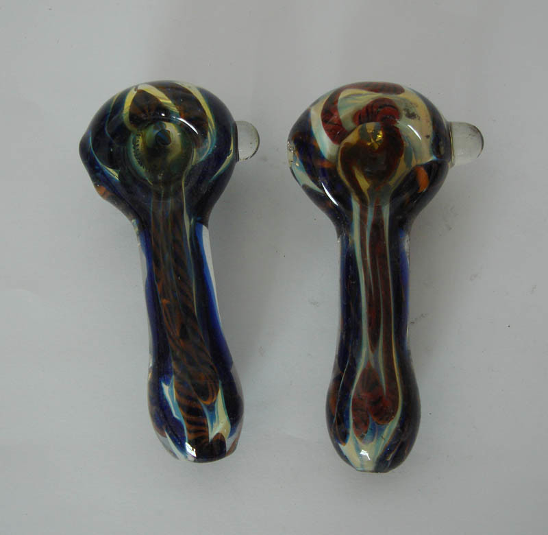 China handmade craft multicolor glass smoking pipes lx44 for Craft pipes