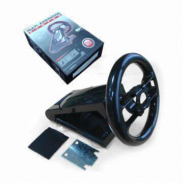 Auto Racing Computer Games on Game Steering Wheel Made Of Abs  Suitable For Computer Racing Games