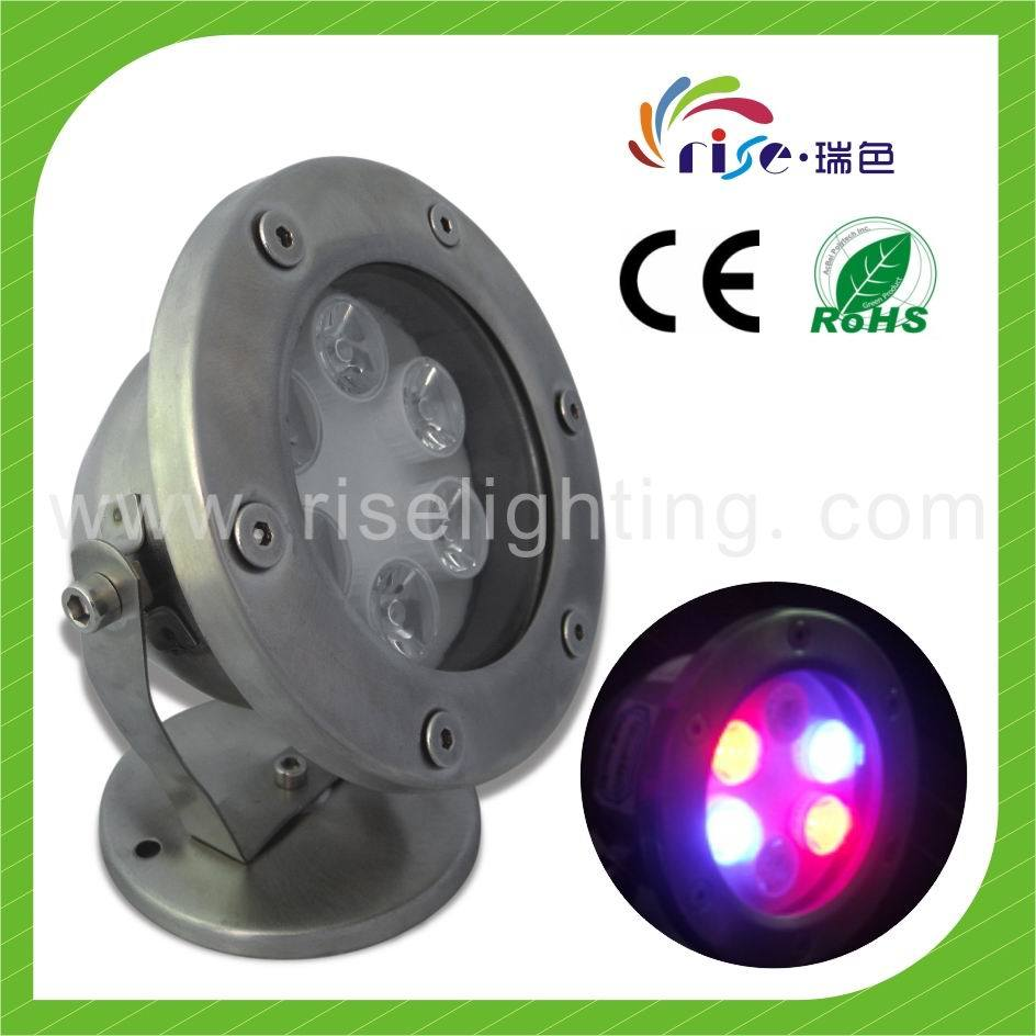 china ip68 rgb dmx control led underwater light rs uw 6w. Black Bedroom Furniture Sets. Home Design Ideas