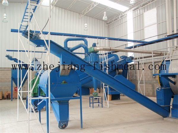 50-500ton/Day Cooker for Fishmeal Plant Line