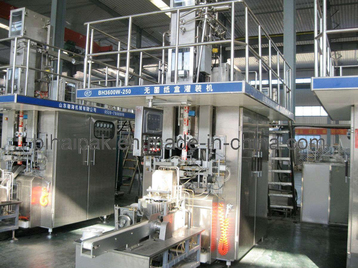 China Bihai Aseptic Filling Machine Bh3000