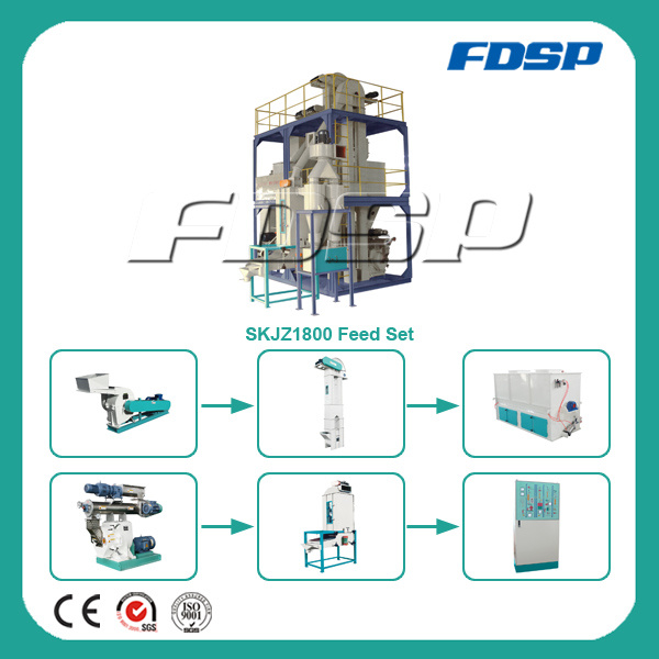 Easy Operation Chicken Feed Plant/Pig Feed Plant