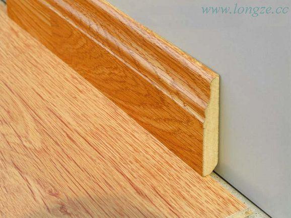 Laminate flooring skirting laminate flooring for Wood skirting