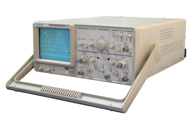 jual 60 mhz oscilloscope bekas