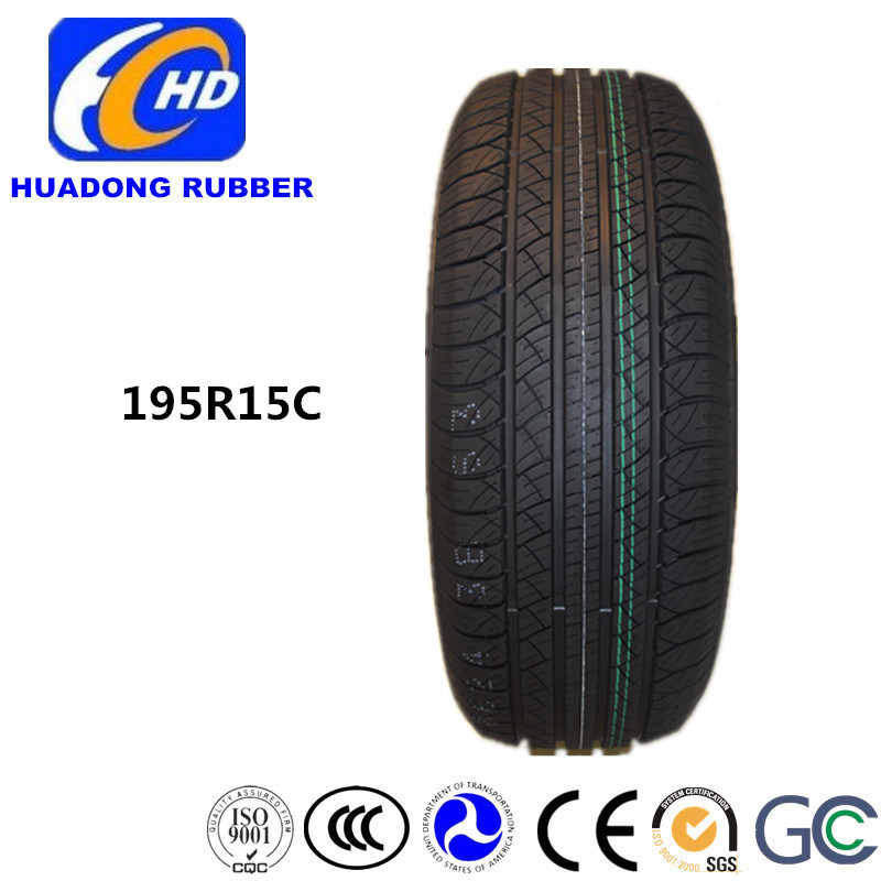 PCR Tire, Passenger Car Tire 195r15c Radial Tire