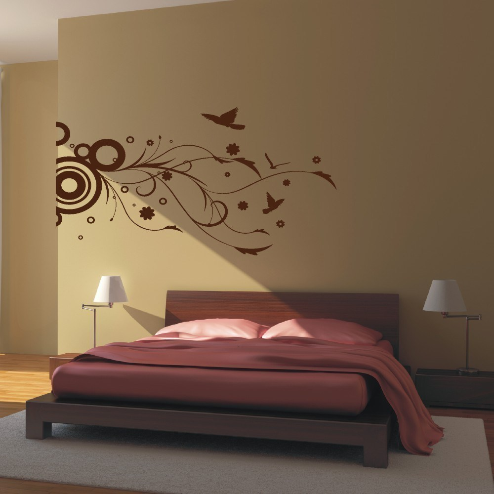 Wall sticker decal 2017 grasscloth wallpaper for Wall art wallpaper