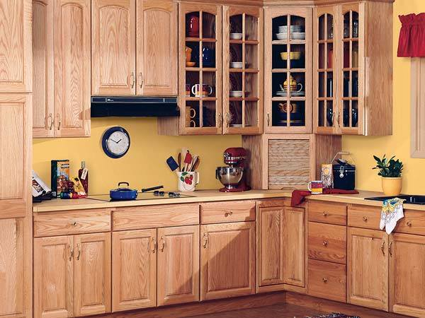 China solid wood kitchen cabinet white toon wood kc 003 for White solid wood kitchen cabinets