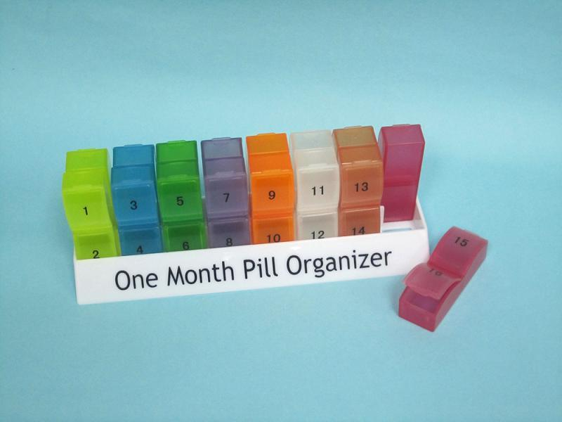 30 day pill container