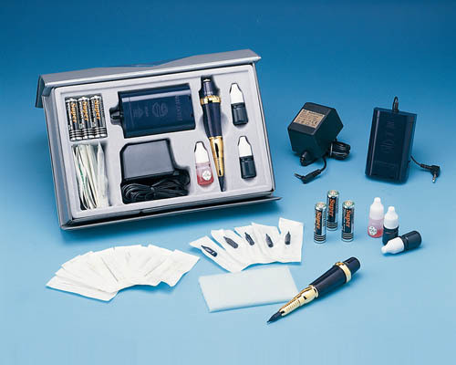 Permanent Make-up Kit, Tattoo Machines (G-9430-12)