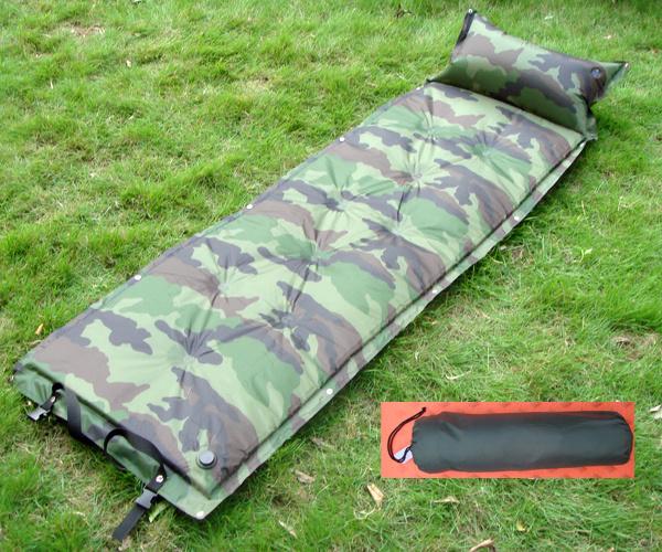 Camping Camo Mat, Military Mat, Self-Inflatable Mat