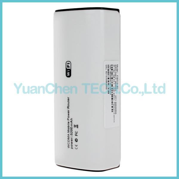 3G Wireless WiFi Router WiFi Modem 3G WiFi Router with SIM Card Slot Hotspot 5200mAh Battery Power