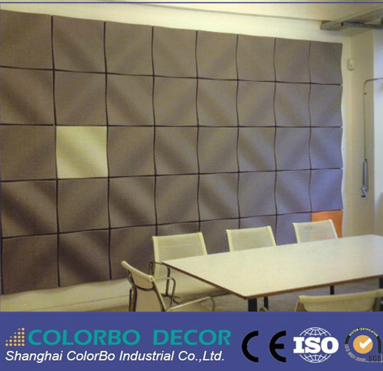 3D Studio Polyester Fiber Acoustic Panel