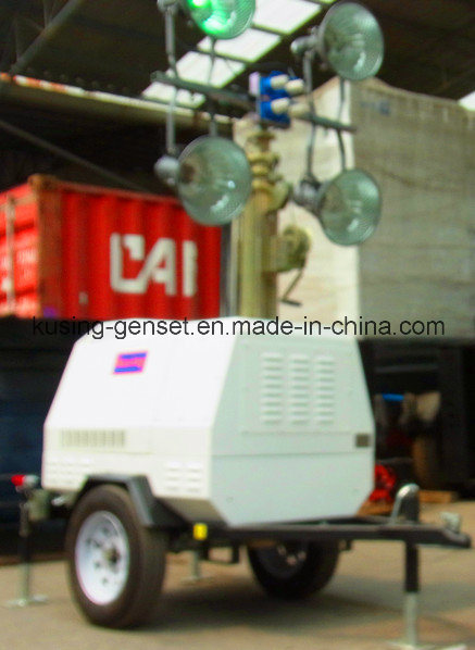 Mobile Light Tower Generator Set/Diesel Generator Set/Diesel Generating Set/Genset/Diesel Genset