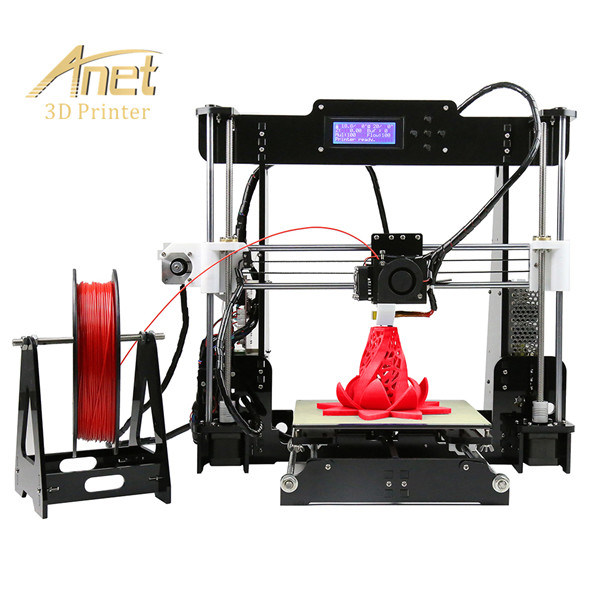 Anet A8 Newest High Quality DIY Fdm Desktop 3D Printer From Anet Factory