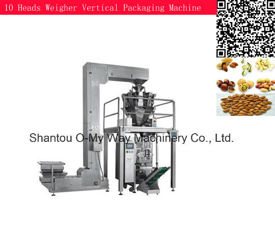 Peanut Pillow Sealing Sachet Automatic Vertical Packing Machine