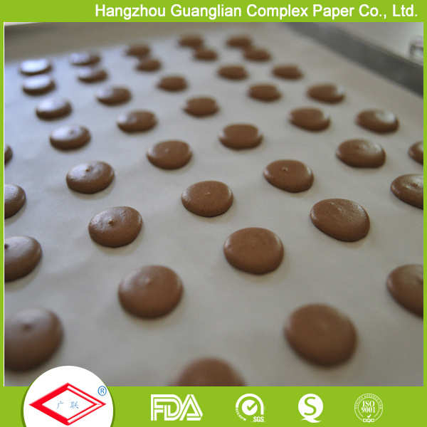 "16""X24"" Unbleached Brown Siliconised Parchment Paper Cookie Sheet Liners"