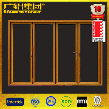 Aluminium Bi-Fold Glass Door/Folding Window