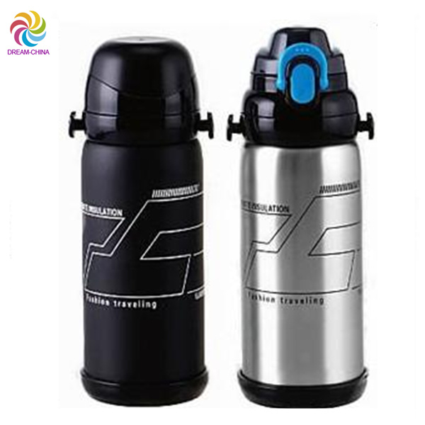 600ml 800ml Creative Double Stainless Steel Vacuum Flask (DC-XBM-3-600 800)