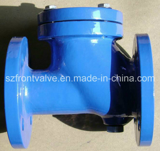 Flanged End Cast Iron Ball Check Valve