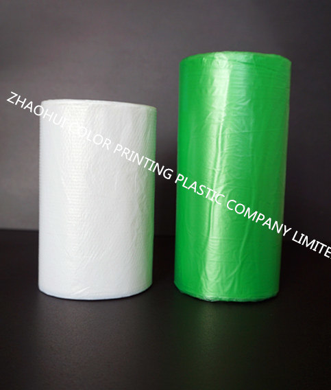 Custom Order Colorful Trash Plastic Bag on Roll