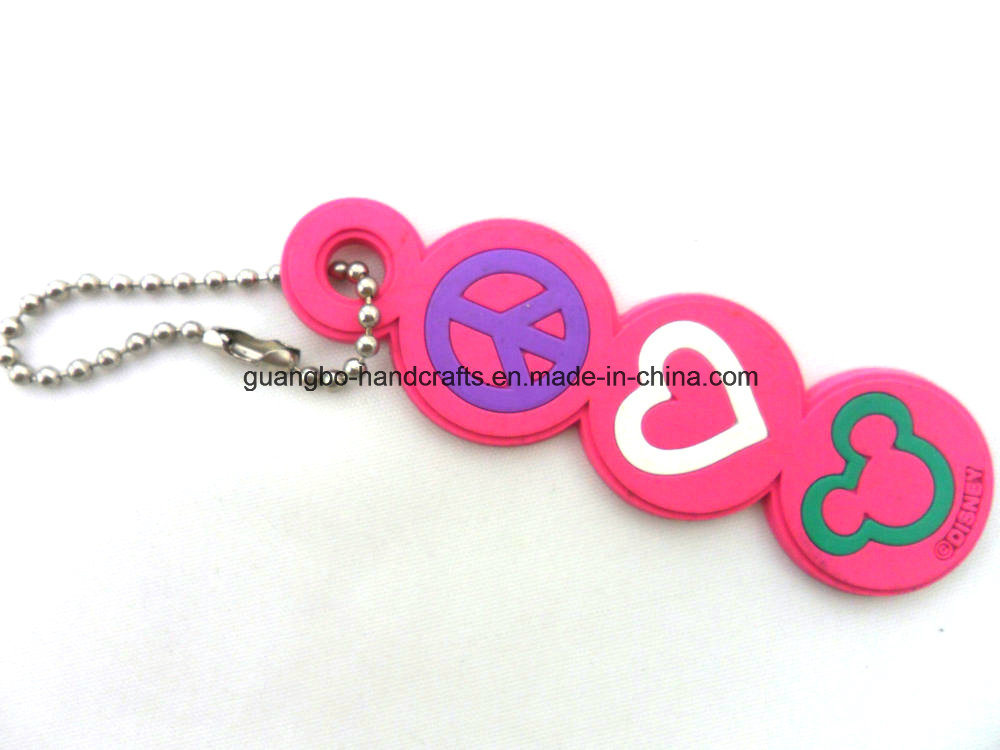 3D Promotion Soft PVC Custom Rubber Keychain