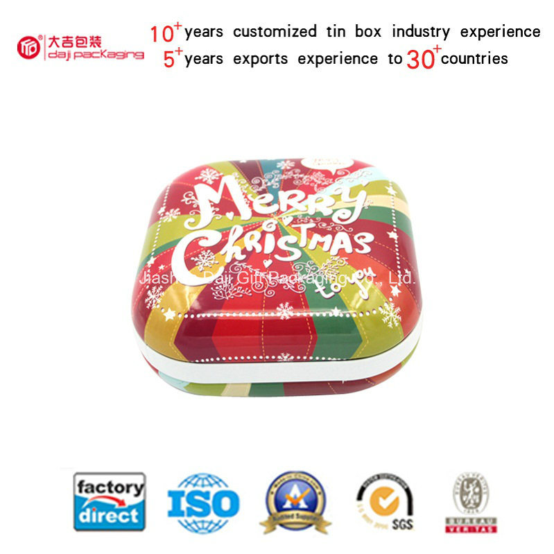 Hot Sale Customizable Products Combination Packing Tin Box (S001-V7)
