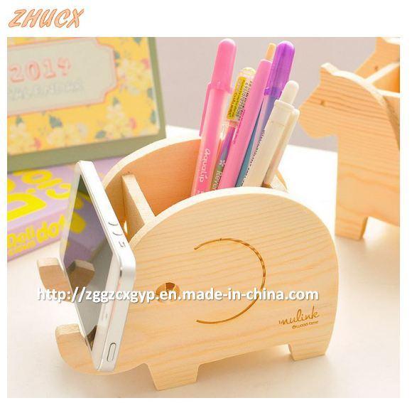 Cute Wooden Pen Container Creatively Pen Box Fashion Pen Box Cx-PC04