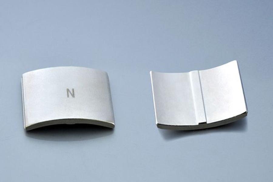 High Quality Arc Segment Neodymium Magnets for Servo Motor