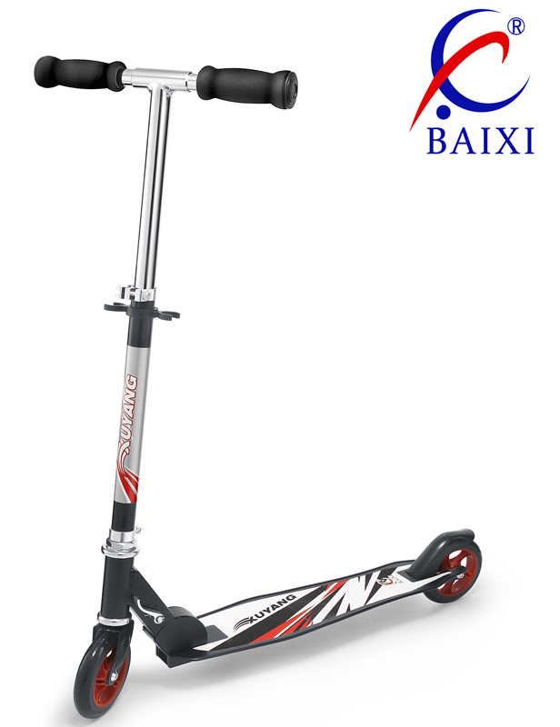 2 Wheel Stunt Plastic Kick Scooter (BX-2MBC125)