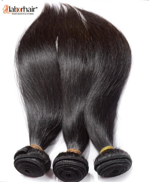 7A Natural Hair Weave 100% Brazilian Virgin Remy Human Hair Extension 2016 New Arrival Lbh 002