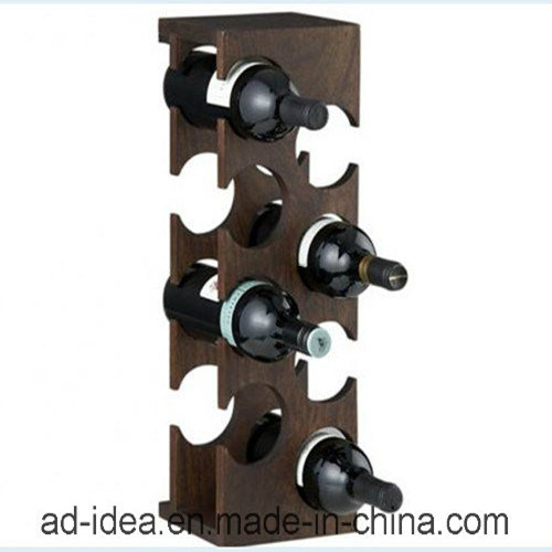 Special Style Wooden Wine Exhibition Stand / Wooden Wine Display Stand