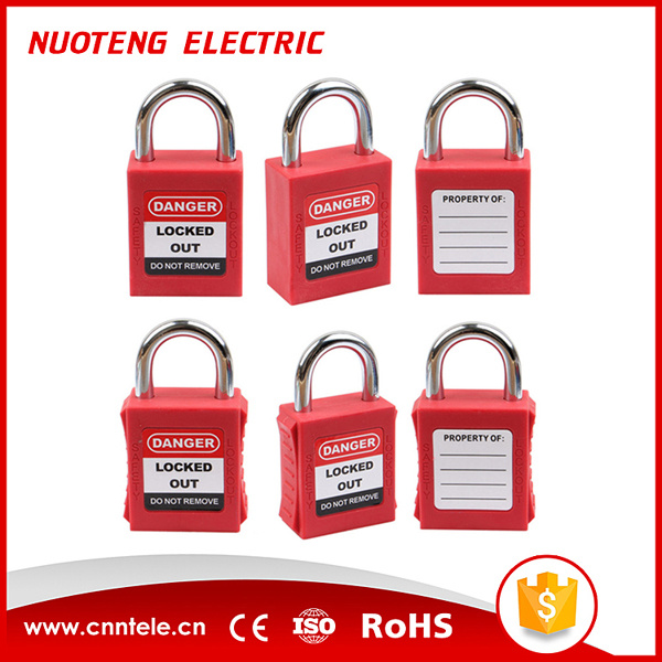 25mm Short Shackle Safety Lockout Padlock