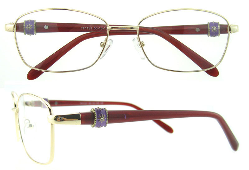 2016 Italy Design Acetate Metal Combination Optical Frames