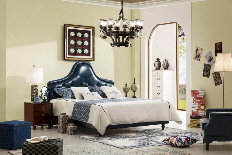 Best Sale Modern Soft Bed of Bedroom Furniture (Jbl2015)