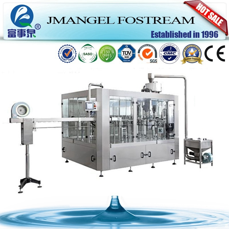 Automatic Monoblock 3-in-1 Purifed Distilled Water Filling Machine