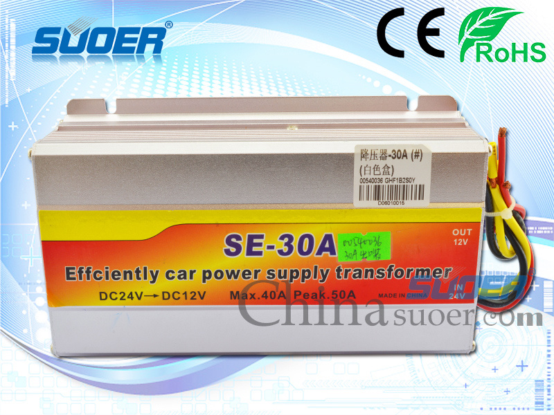 Suoer Single Ouput Converter 30A DC to DC Power Transformer (SE-30A (Neutral Packing ))
