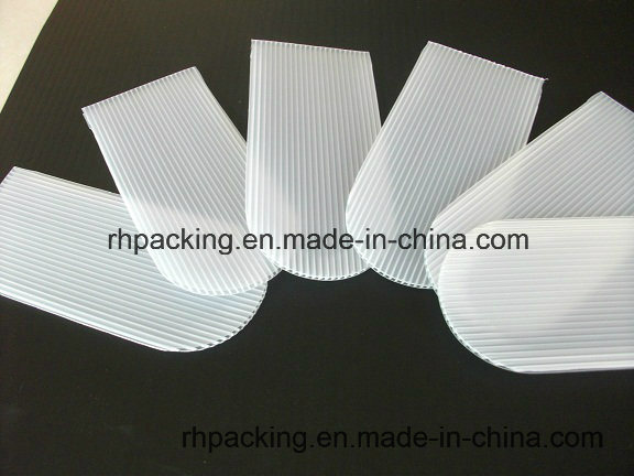 Transparent or White Polypropylene Corrugated Sheet PP Flute Plate/Using at Solar Machine