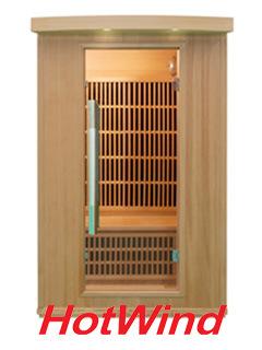 2015 Hemlock Far Infrared Sauna Room with Ceramic Heater Sauna Room Factory