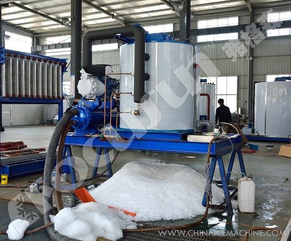 Flake Ice Machine (0.5 ton - 60 tons per 24 hours)