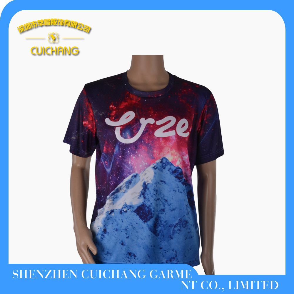Wholesale 100% Cotton Printing Fashion Polo T Shirt for Men