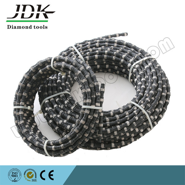 Rubber Diamond Wire Saw Diamond Tools for Marble Quarry