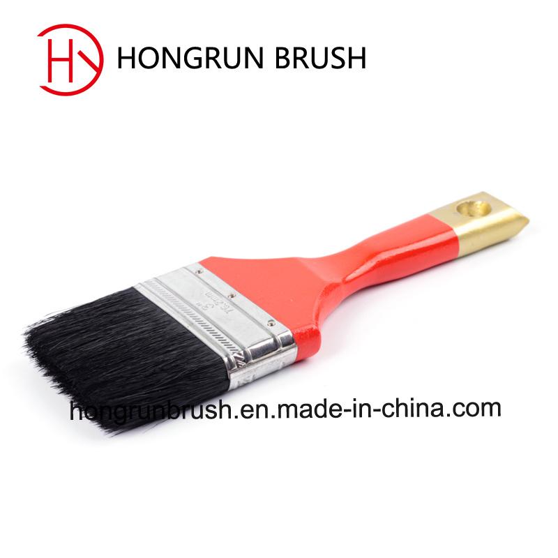 Wooden Handle Bristle Paint Brush (HYW006)
