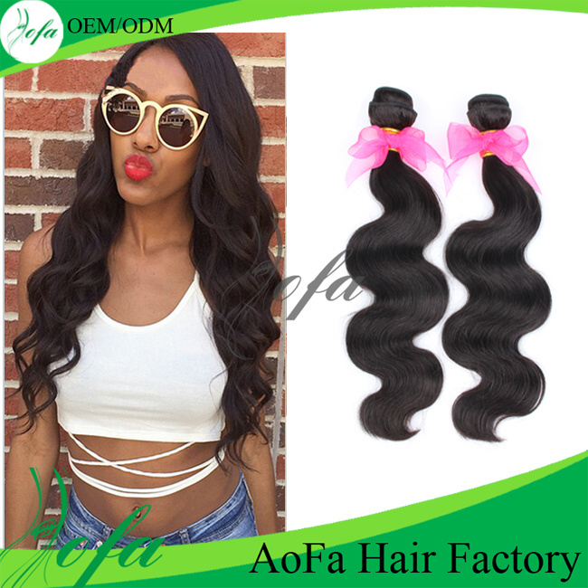 No Shedding Very Soft 100% Brazilian Virgin Human Hair Extension
