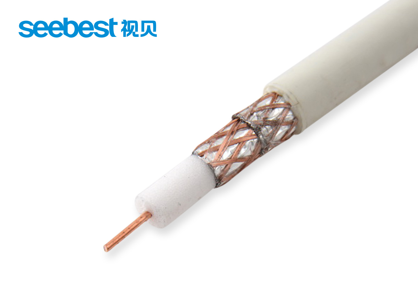Television Coaxial Cable, Double Shielded Audio Coaxial Cable