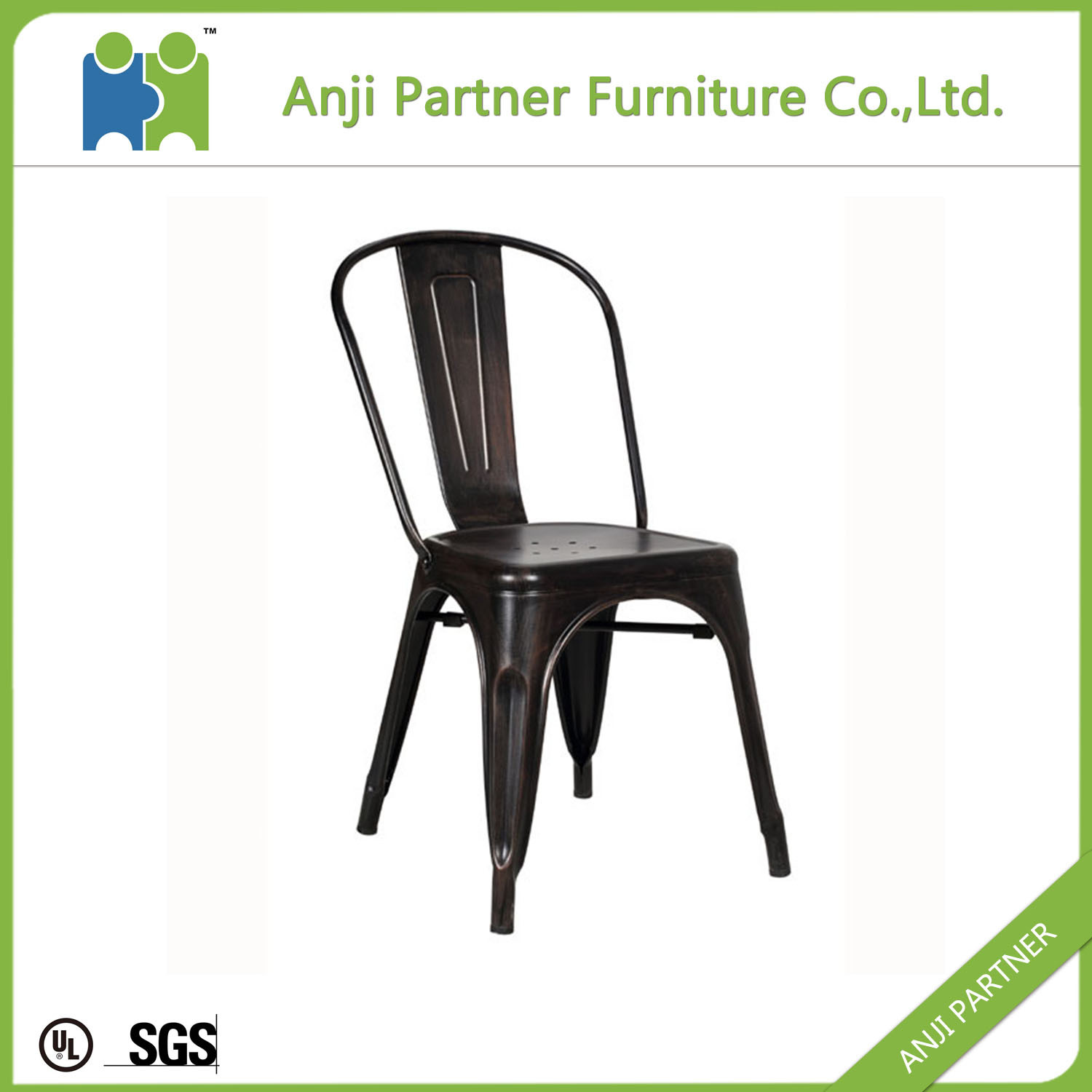 (HAGUPI) China Wholesale Modern Furniture Vintage Industrial Metal Chair