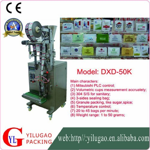 High Efficient 3 Sides or 4 Sides Granule Bag Packing Machine